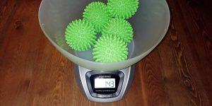 Bramble Trocknerbälle Test Gewicht